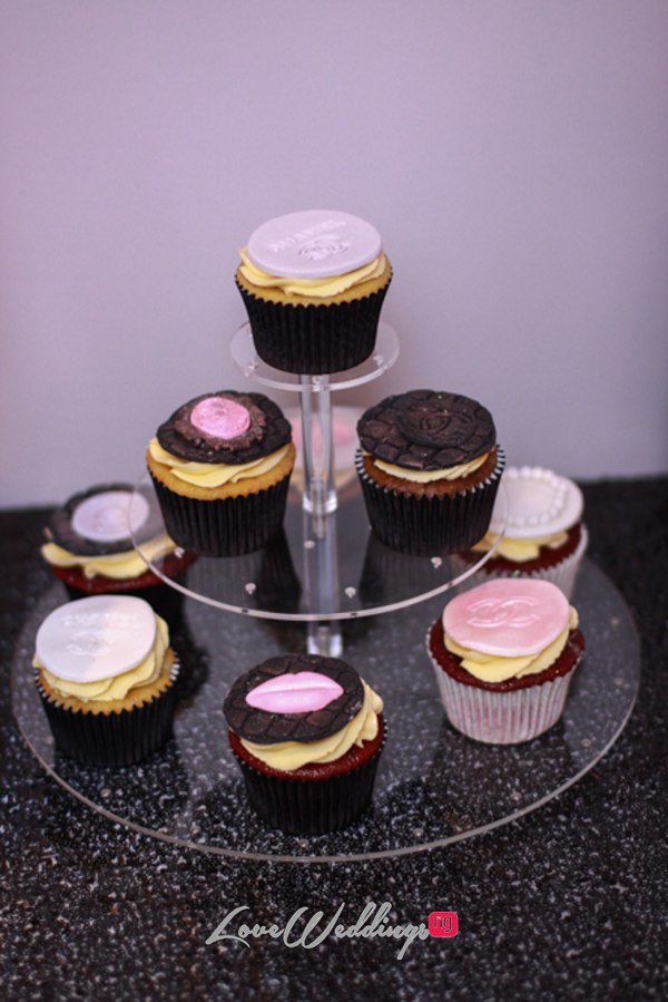 Titi's Chanel Themed Bridal Shower Cupcakes Partito By Ronnie LoveweddingsNG 2
