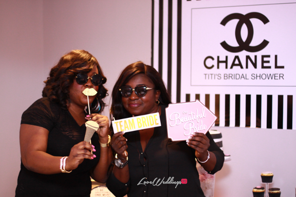 Titi's Chanel Themed Bridal Shower Guests Partito By Ronnie LoveweddingsNG 4