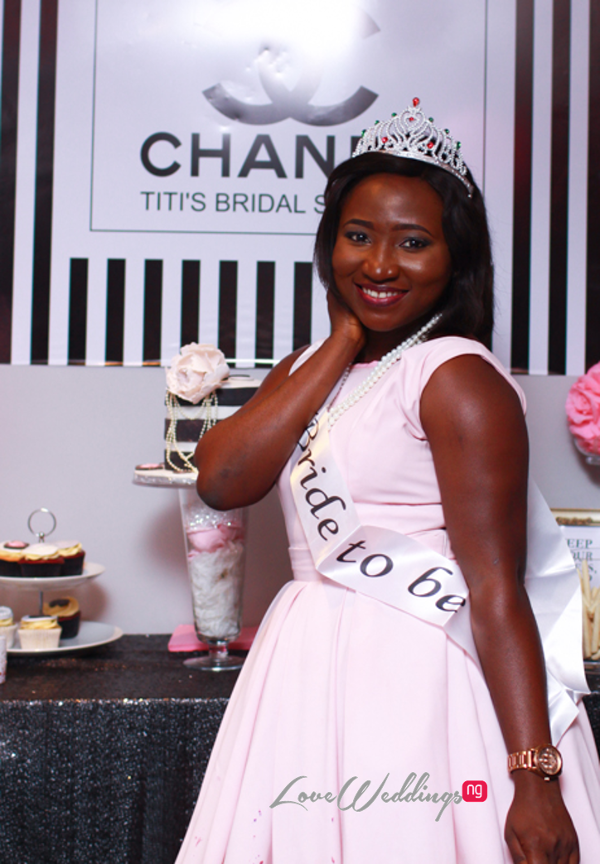 Titi's Chanel Themed Bridal Shower Partito By Ronnie LoveweddingsNG 2
