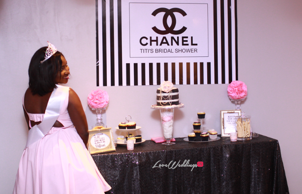 Titi's Chanel Themed Bridal Shower Partito By Ronnie LoveweddingsNG