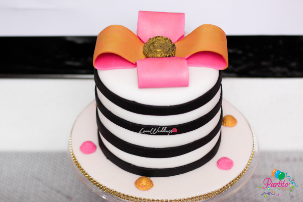 Yetunde's Kate Spade Themed Bridal Shower Cake LoveweddingsNG Partito by Ronnie