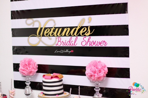 Yetunde's Kate Spade Themed Bridal Shower Decor LoveweddingsNG Partito by Ronnie