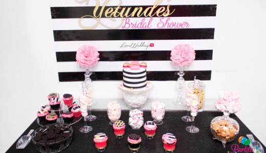 89ca4c4746c2 Yetunde s Kate Spade Inspired Bridal Shower