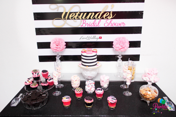 Yetunde's Kate Spade Themed Bridal Shower LoveweddingsNG Partito by Ronnie