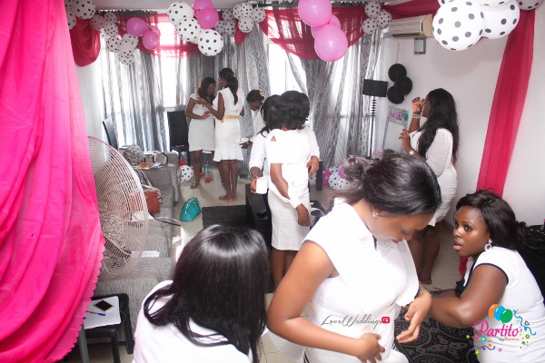 Yetunde's Kate Spade Themed Bridal Shower Tissue Dress Game LoveweddingsNG Partito by Ronnie 1