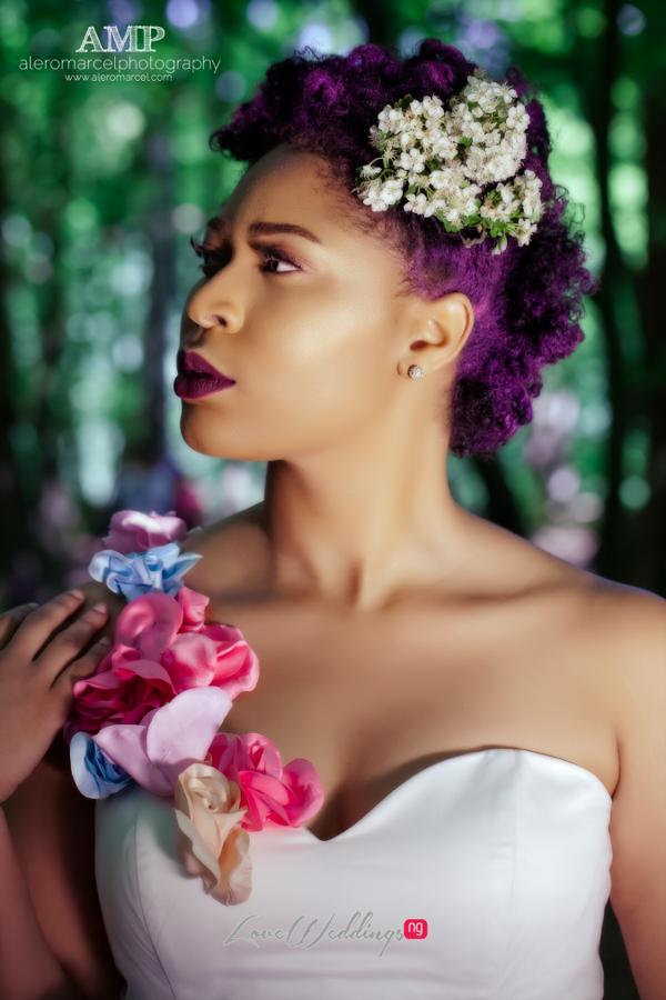Berry Curvy Bridal Inspiration Shoot LoveweddingsNG