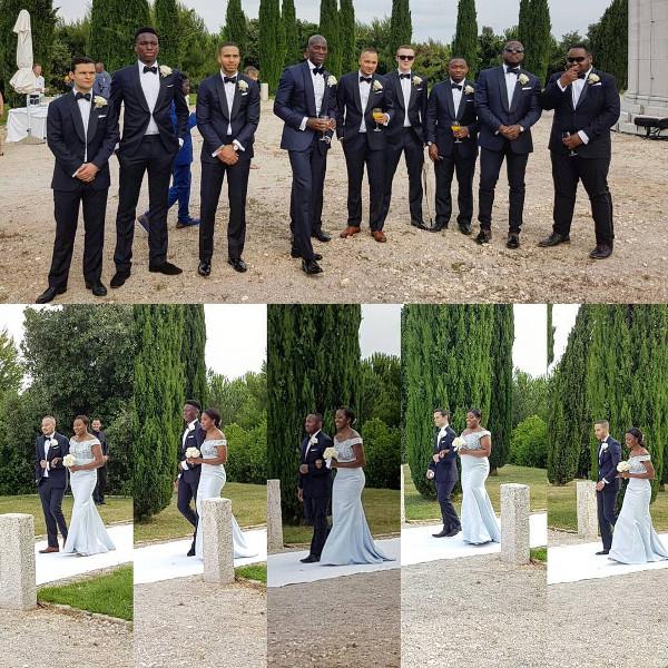 Chinwetel Ejiofor's sister Kandi weds Dele #Kandele Destination Wedding Croatia Bridal Party LoveweddingsNG