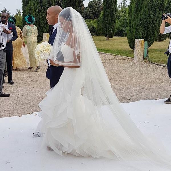 Chinwetel Ejiofor's sister Kandi weds Dele #Kandele Destination Wedding Croatia LoveweddingsNG