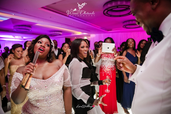 Dolapo Oni Sijuwade and Tiwa Savage at Tolu Oniru and Tunde Demuren Dubai Wedding Wani Olatunde LoveweddingsNG TSquared