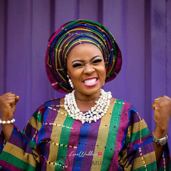 Elizabeth Da Silva Nollywood Actress Birthday Traditional Bride LoveweddingsNG 4