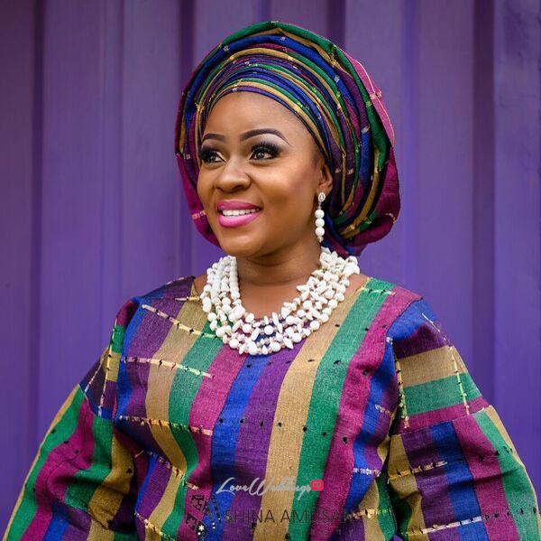 Elizabeth Da Silva Nollywood Actress Birthday Traditional Bride LoveweddingsNG 6