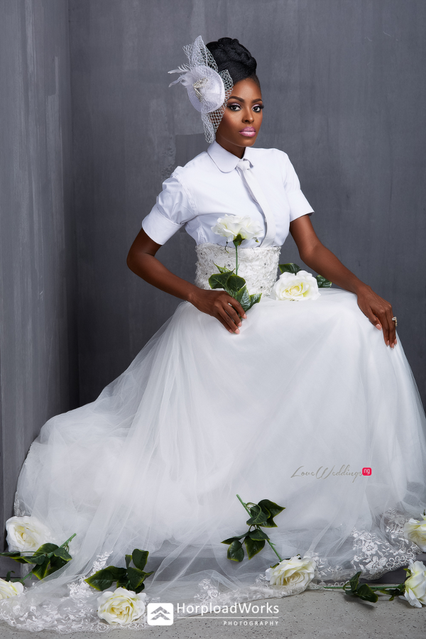 Ghanaian Model Victoria Michaels Bridal Shoot LoveweddingsNG Horpload Works 4