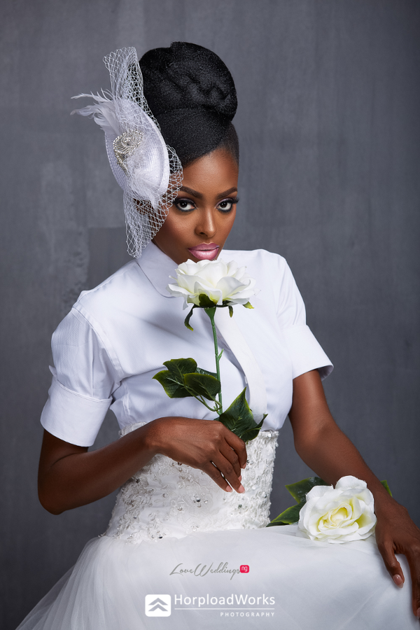 Ghanaian Model Victoria Michaels Bridal Shoot LoveweddingsNG Horpload Works 5