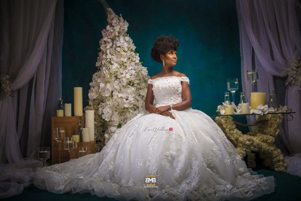 Glam Your Wedding Dress Project BMB Photography Omazpro Beauty LoveweddingsNG 10