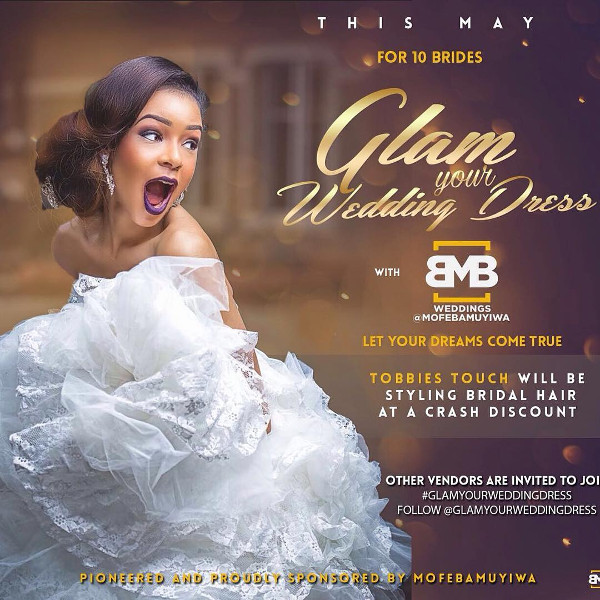 Glam Your Wedding Dress with BMB Photography LoveweddingsNG
