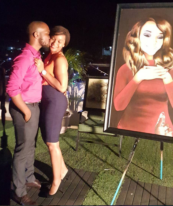 Ilamina and Olise Painting Proposal in Nigeria LoveweddingsNG HOC Events 2