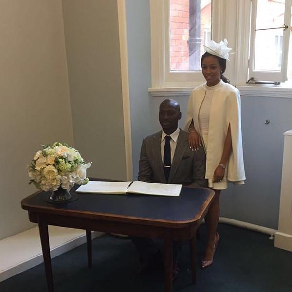 Kandi weds Dele #Kandele Courthouse Wedding LoveweddingsNG 1