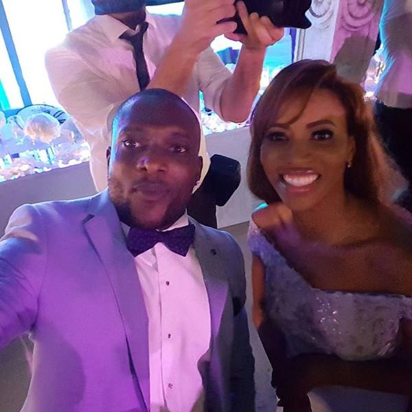 Kandi weds Dele #Kandele Destination Wedding Croatia MC Wale Gates and Zain Asher LoveweddingsNG