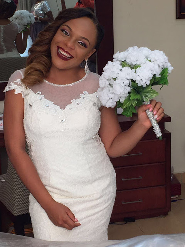 Nigerian Bridal Bouquet DIY Alma Jesse LoveweddingsNG 2