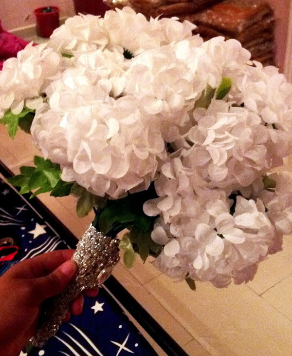 Nigerian Bridal Bouquet DIY Alma Jesse LoveweddingsNG