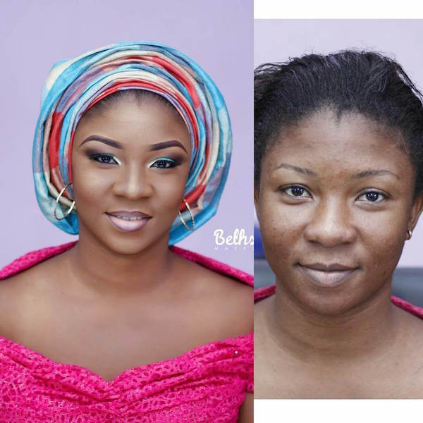 Nigerian-Bridal-Makeover-Before-and-After-Bethsaida-makeovers-LoveweddingsNG