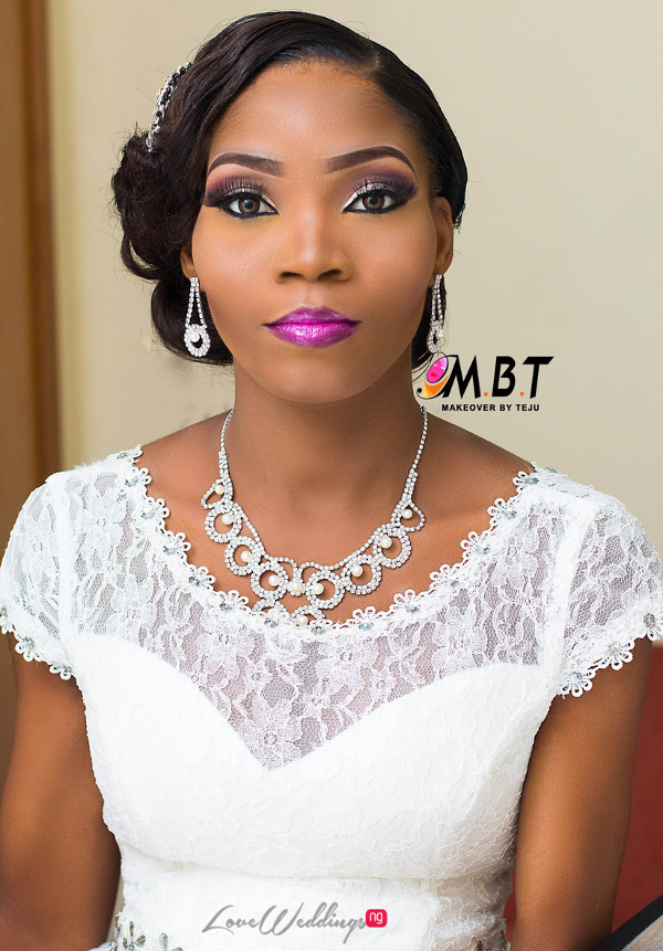 Nigerian Bridal Makeup Nazas Diary Makeover by Teju LoveweddingsNG 1