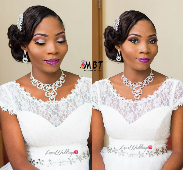 Nigerian Bridal Makeup Nazas Diary Makeover by Teju LoveweddingsNG 2