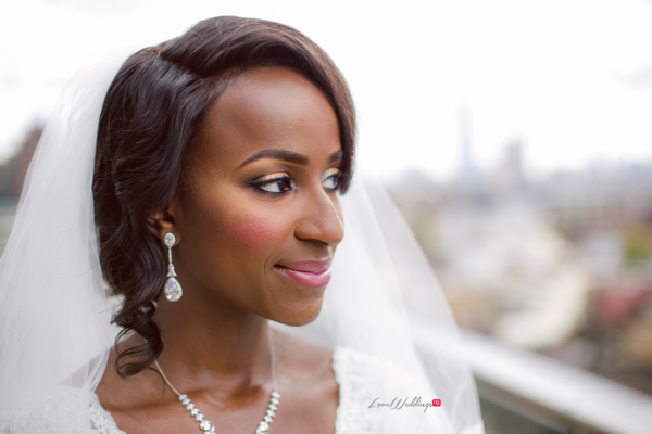 Nigerian Bride Makeup Joy and Ifeanyi Joy Adenuga LoveweddingsNG 1