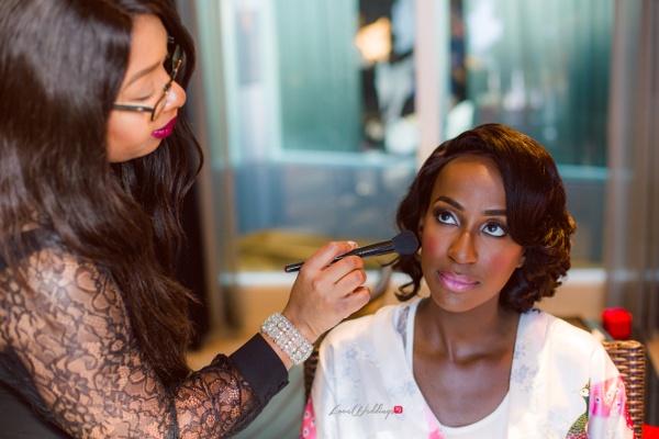 Nigerian Bride Makeup Joy and Ifeanyi Joy Adenuga LoveweddingsNG