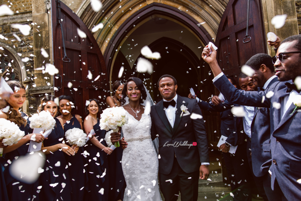 Nigerian Couple Joy and Ifeanyi Just Married Perfect Events LoveweddingsNG
