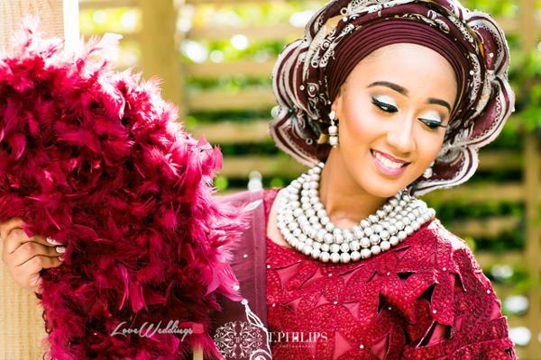 Nigerian Ghanaian Wedding Abi and Olivia Traditional Bride LoveweddingsNG