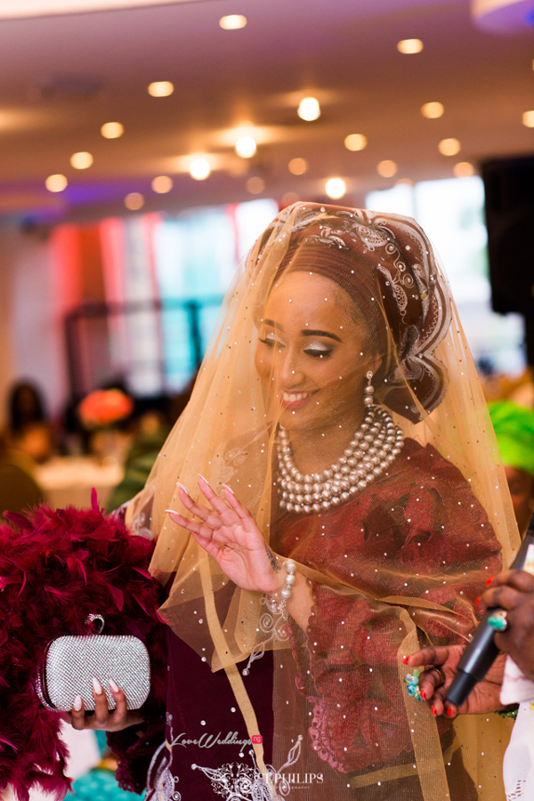 Nigerian Ghanaian Wedding Abi and Olivia Traditional Bride LoveweddingsNG2