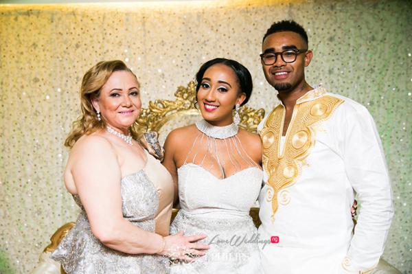 Nigerian Ghanaian White Wedding Abi and Olivia Bride and Friends LoveweddingsNG