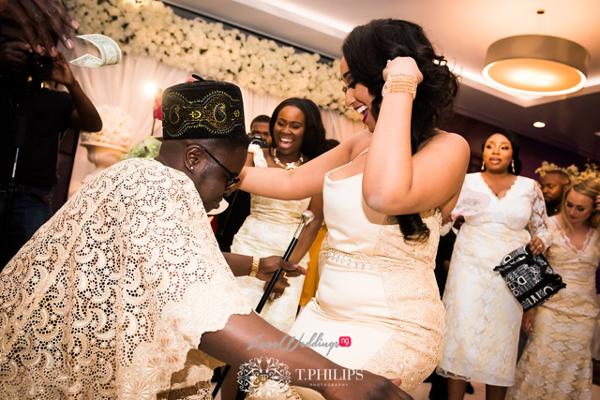 Nigerian Ghanaian White Wedding Abi and Olivia Dance LoveweddingsNG