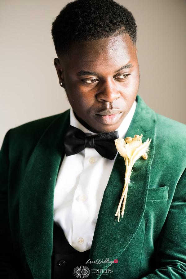 Nigerian Ghanaian White Wedding Abi and Olivia Groom LoveweddingsNG 1