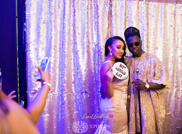 Nigerian Ghanaian White Wedding Abi and Olivia Reception Outfit LoveweddingsNG