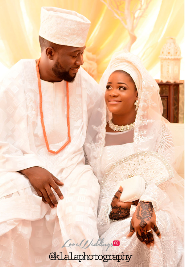 Nigerian Muslim Traditional Couple Rasheedat and Kamaldeen LoveweddingsNG Klala Photography 1