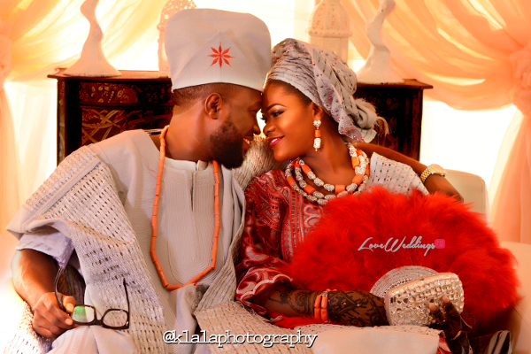 Nigerian Muslim Traditional Couple Rasheedat and Kamaldeen LoveweddingsNG Klala Photography 2