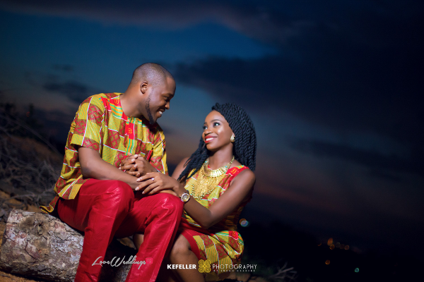 From Stalking Him On Twitter to Long Distance! Nkem & Kene were made for each other | Kefeller Studios