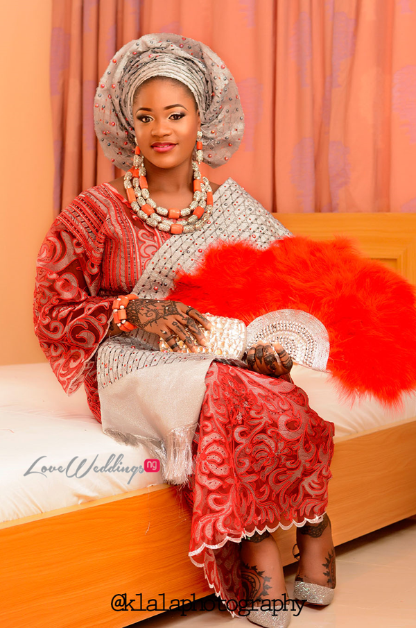 Nigerian Traditional Bride Rasheedat and Kamaldeen LoveweddingsNG Klala Photography 2