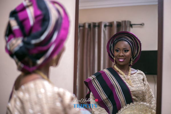 Nigerian Traditional Bride Tunde and Simi LoveweddingsNG Trip City Visuals 1
