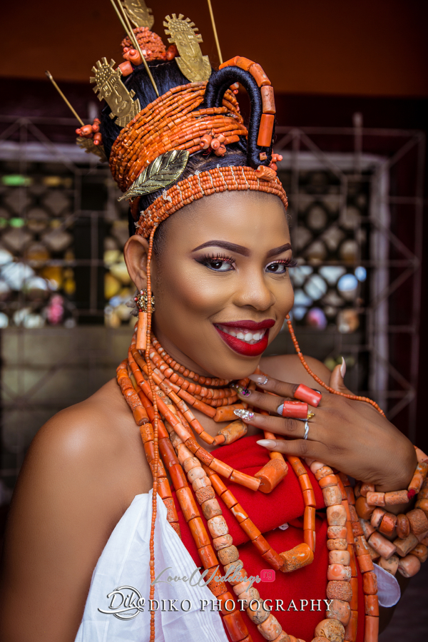 Nigerian Traditional Bride Zandra and Henry Diko Photography LoveweddingsNG 2
