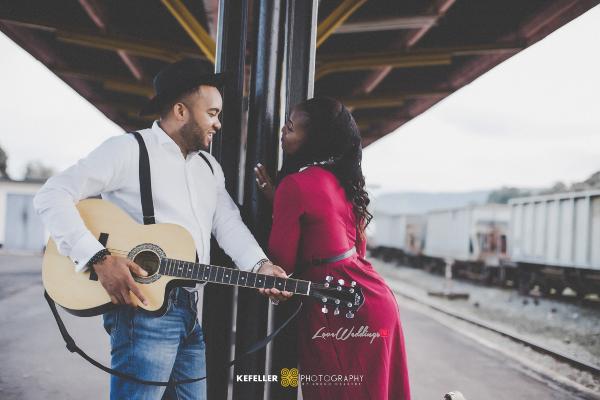 Nigerian Vintage Engagement Shoot LoveweddingsNG Kefeller Works 1