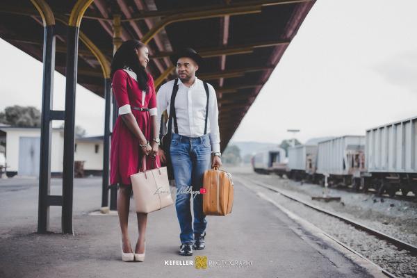 Nigerian Vintage Engagement Shoot LoveweddingsNG Kefeller Works 2