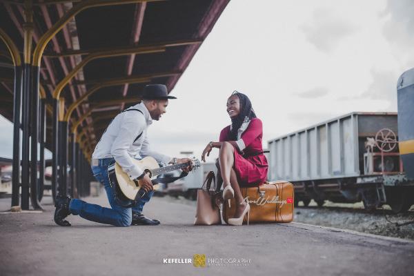 Nigerian Vintage Engagement Shoot LoveweddingsNG Kefeller Works 4
