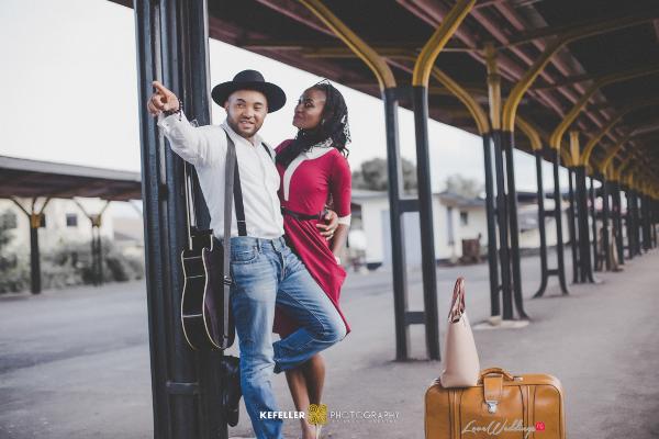 Nigerian Vintage Engagement Shoot LoveweddingsNG Kefeller Works 5