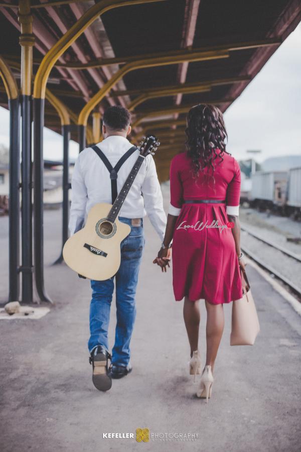 Nigerian Vintage Engagement Shoot LoveweddingsNG Kefeller Works 6
