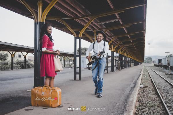 Nigerian Vintage Engagement Shoot LoveweddingsNG Kefeller Works