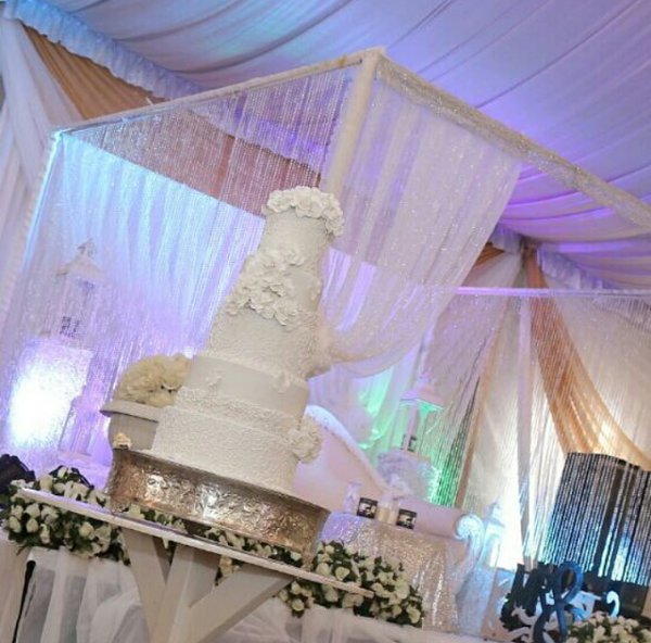 Nigerian Wedding Cake Alma Jesse LoveweddingsNG