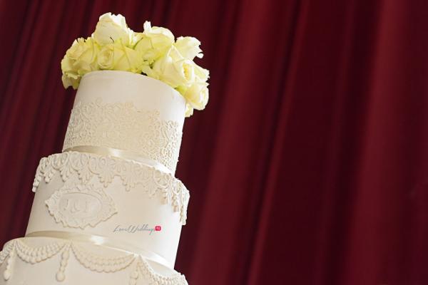 Nigerian Wedding Cake Joy and Ifeanyi TY Couture Cakes LoveweddingsNG 2